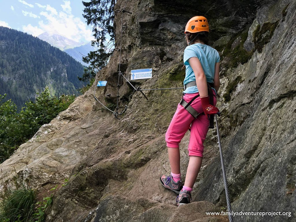 Tackling the Via Ferrata, Huterlaner Klettersteig in Mayrhofen