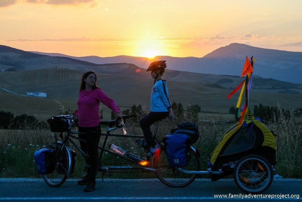 Sunset on the Camino de Santiago