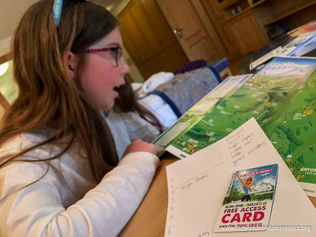 Planning a break in Les Diablerets with the Free Access Card