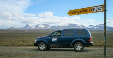 Road Trip Iceland 4WD on way to Kerlingarfjoll