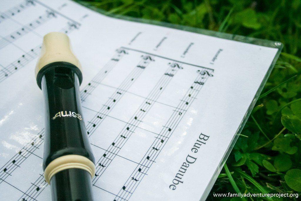 Recorder Music The Blue Danube