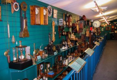 Whangarei's National Clock Museum.