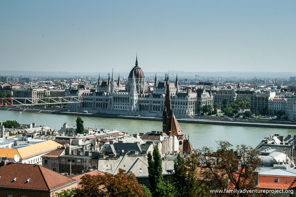 View across Budapest