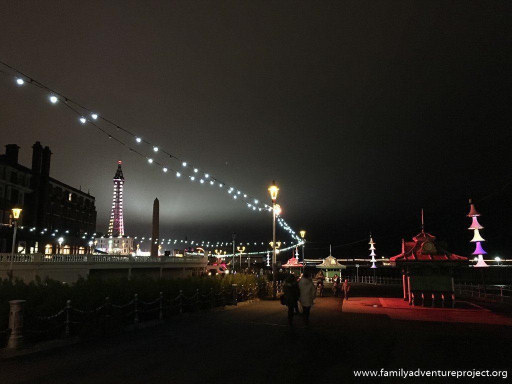 Blackpool Illuminations and the Blackpool Tower