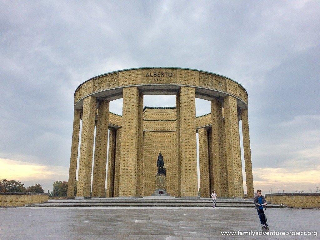Westfront Albert 1 Memorial Nieuwpoort, Belgium