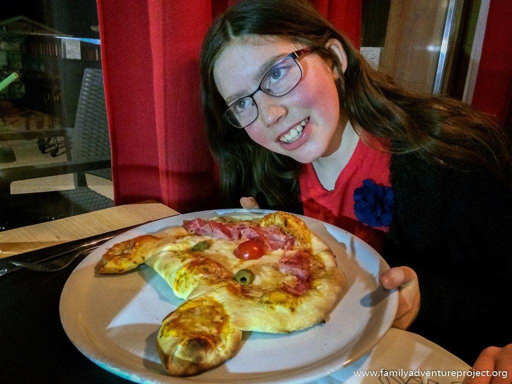 Pizza in Le Flocon La Rosiere