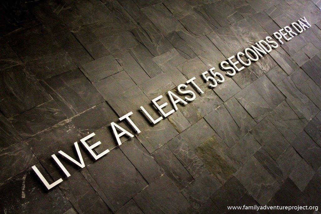 Live at Least 55 seconds per day. Dubai Mall Dubai