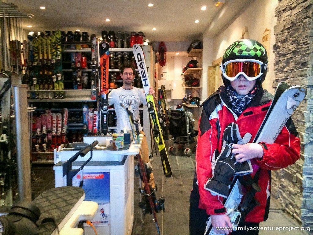 Intersport ski shop La Rosiere