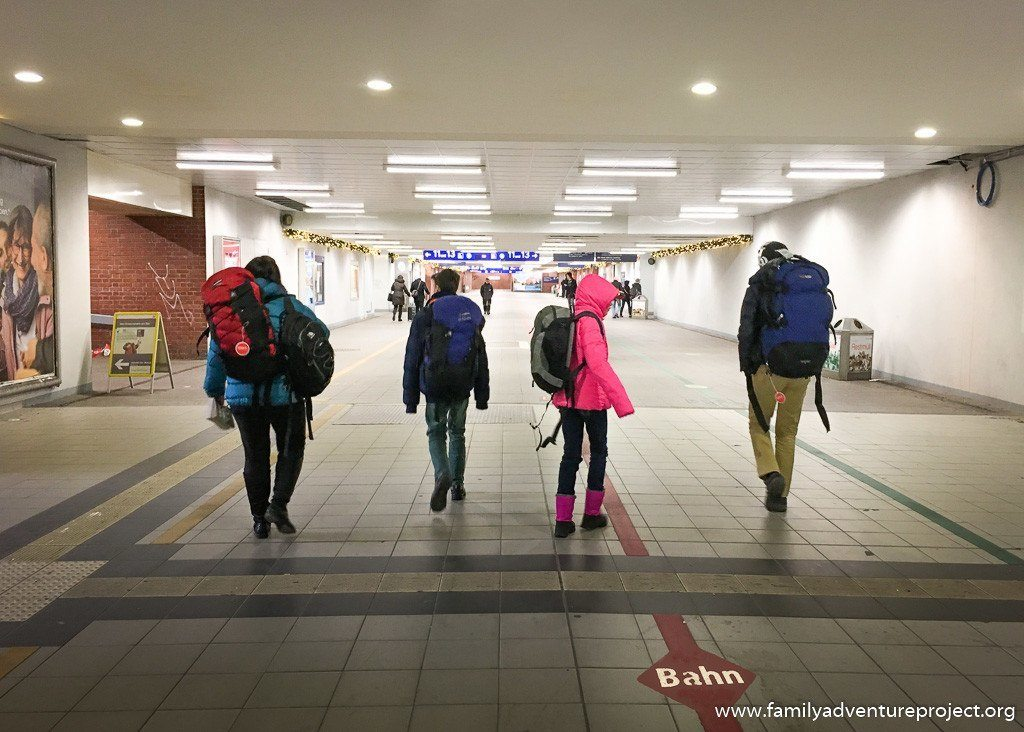 Teens, trains, tech and travel