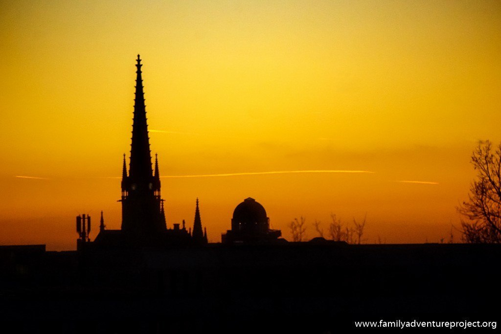 Leipzig Sunset from Ramada Leipzig City Centre