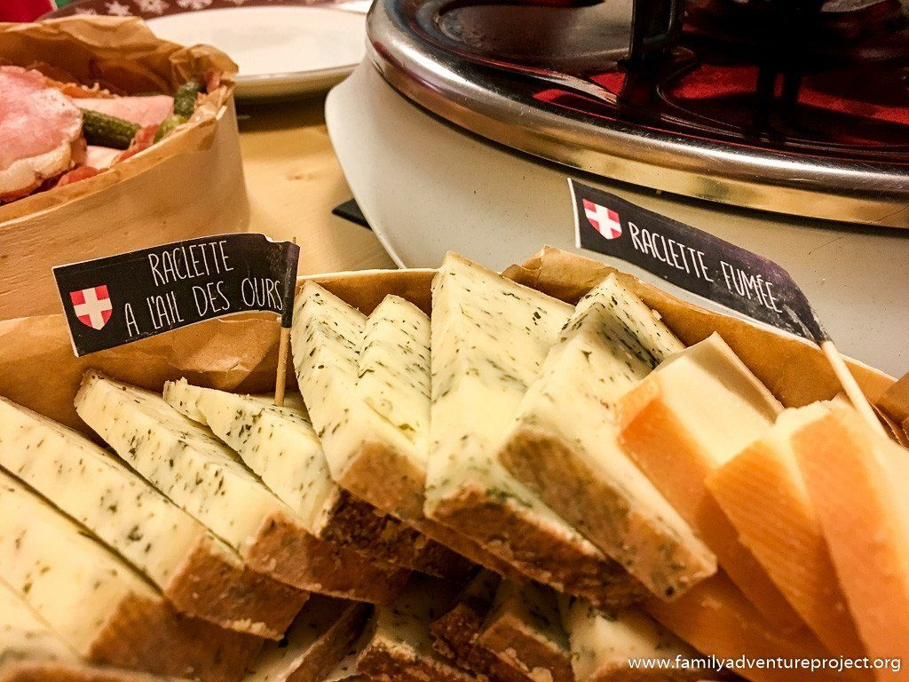 Raclette from Les Fondus de Raclette in Valmorel