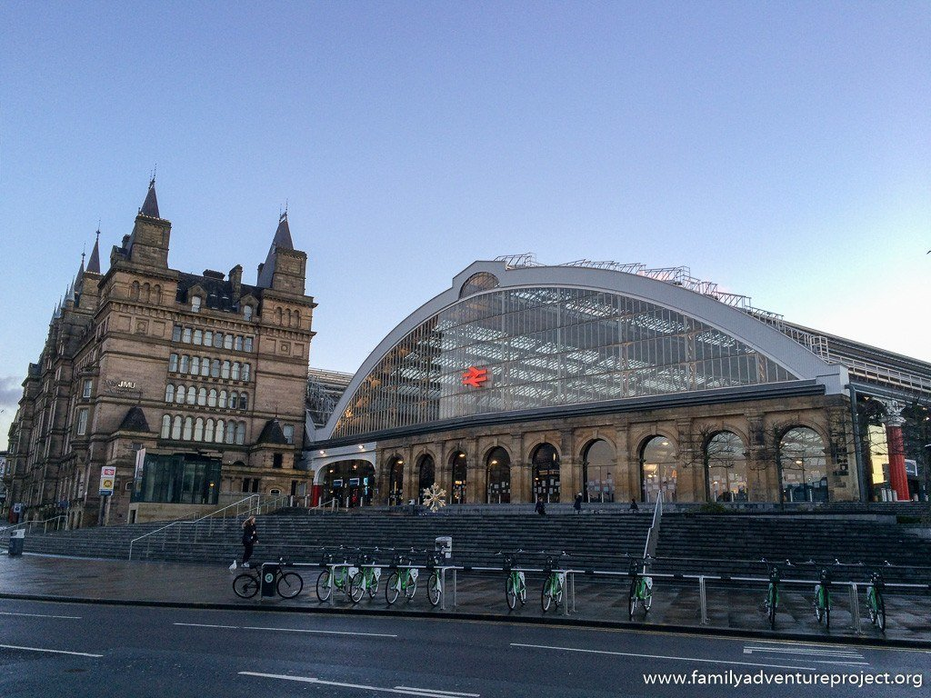 Liverpool Lime Street Station in Morning Light