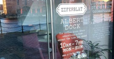Ziferblat, LIverpool Albert Dock