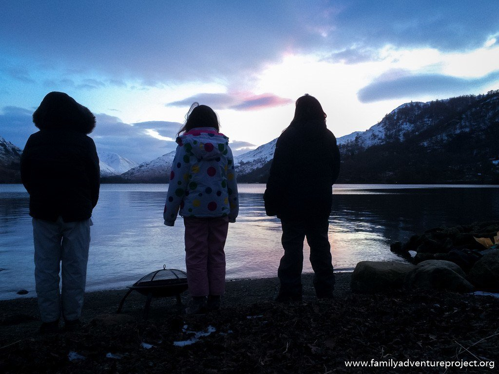 Winters Outing on Ullswater