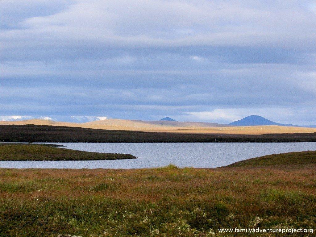 Northern Scottish Landscape on LEJOG route