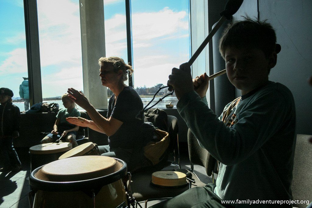 Drumming Workshop Reykjavik Children's Festival