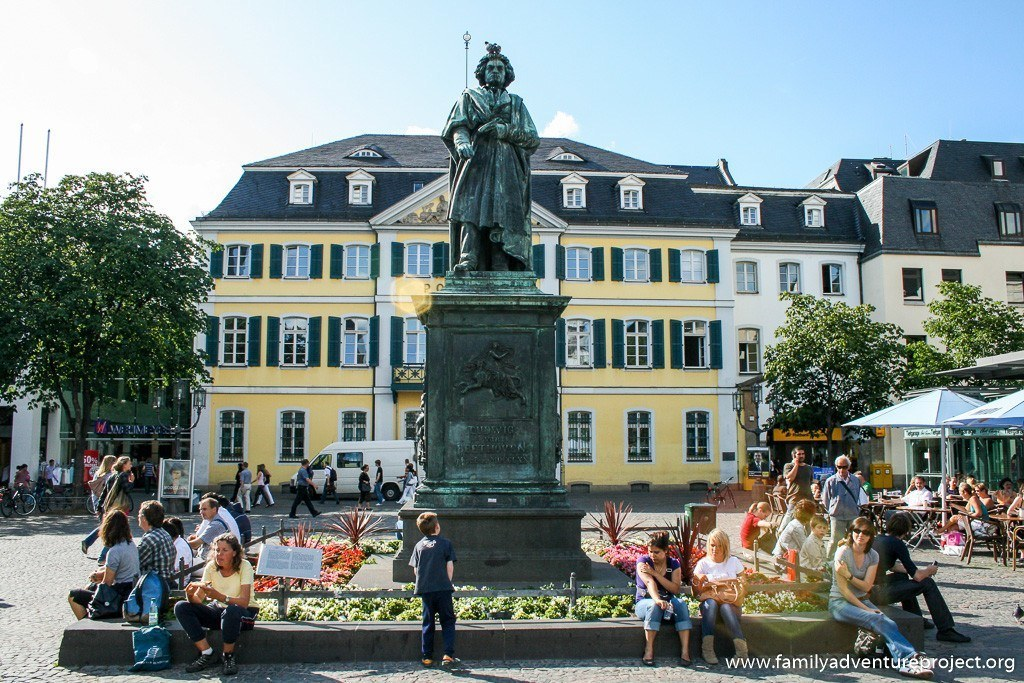 Beethoven statue in Bonn