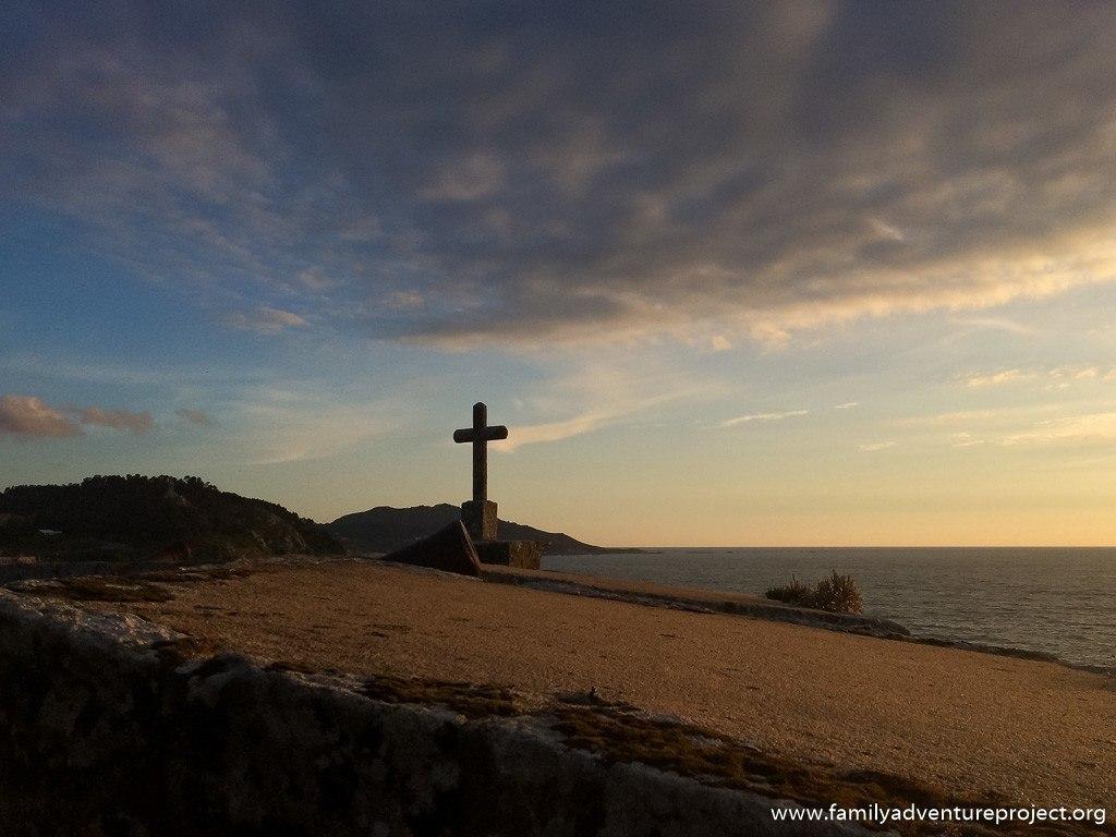 Views from the grounds of Parador de Baiona, Galicia