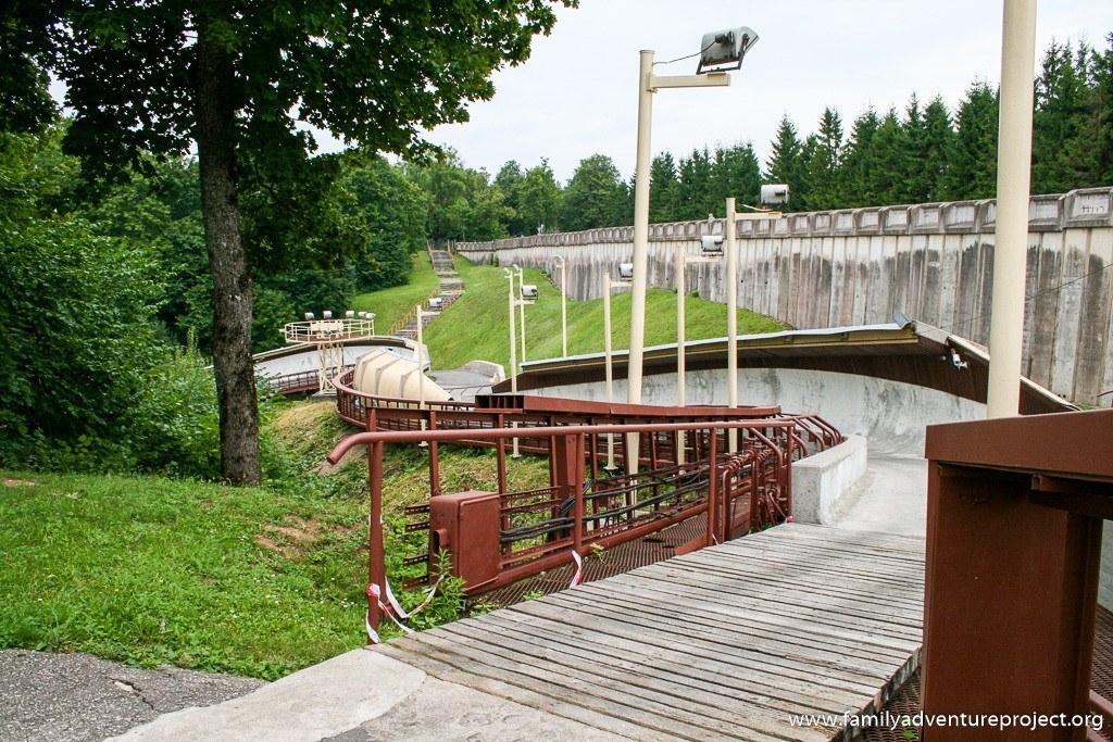 Bobsleigh Sigulda, Latvia
