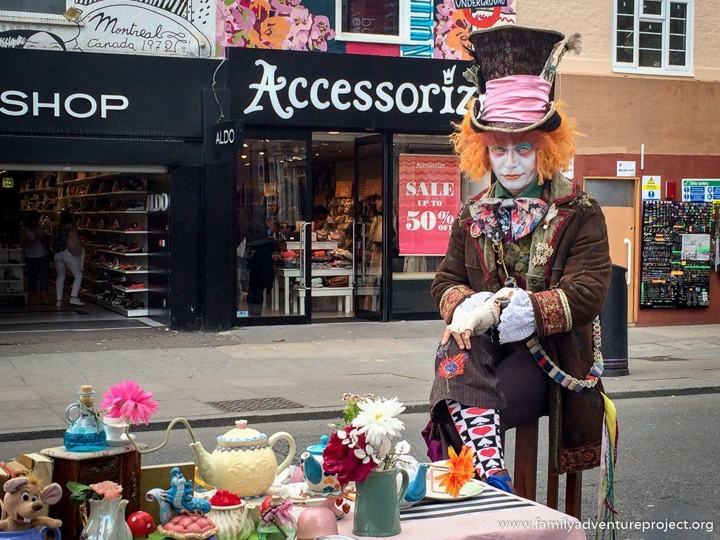 Mad Hatter in Camden Town