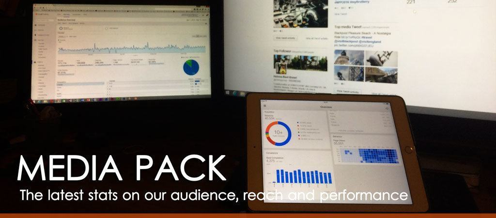 Media Pack - the latest stats on our audience, reach and performance