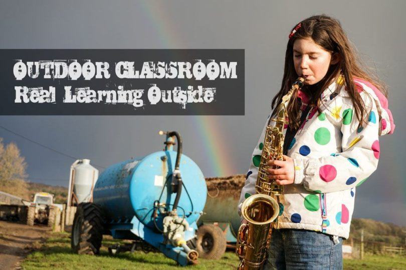 Outdoor Learning - Real Learning Outside