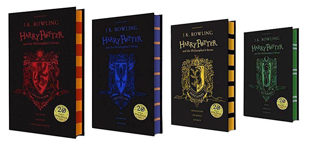 Harry Potter 20th Anniversary Limited Edition Hardback Books
