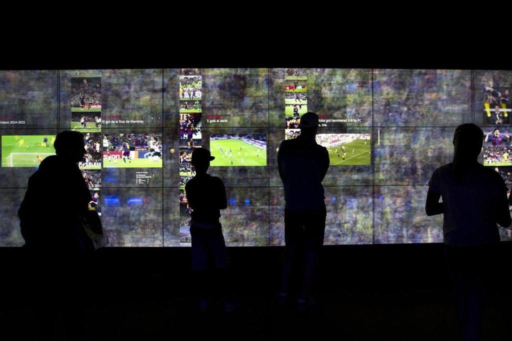 FC Barcelona Camp Nou Tour Museum