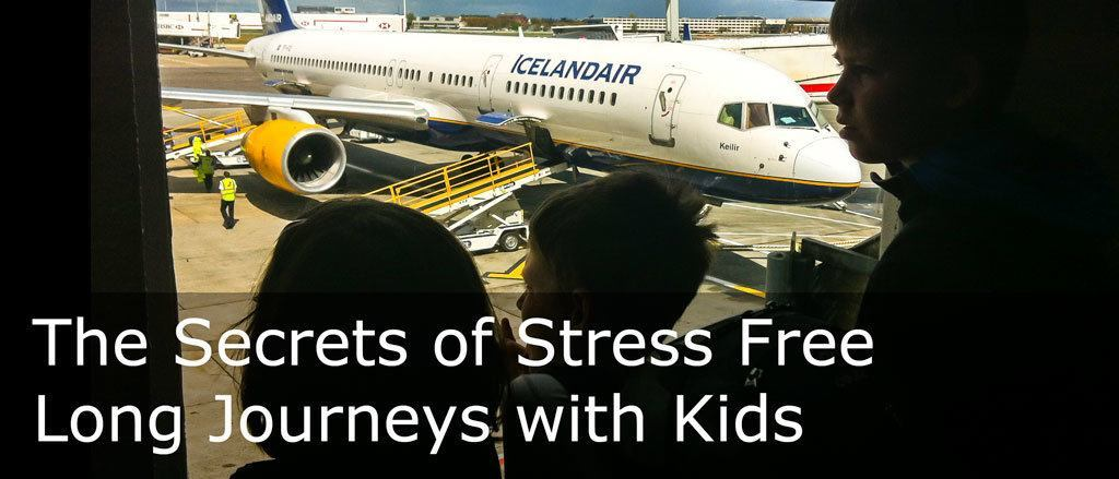 The secrets of stress free long journeys with kids