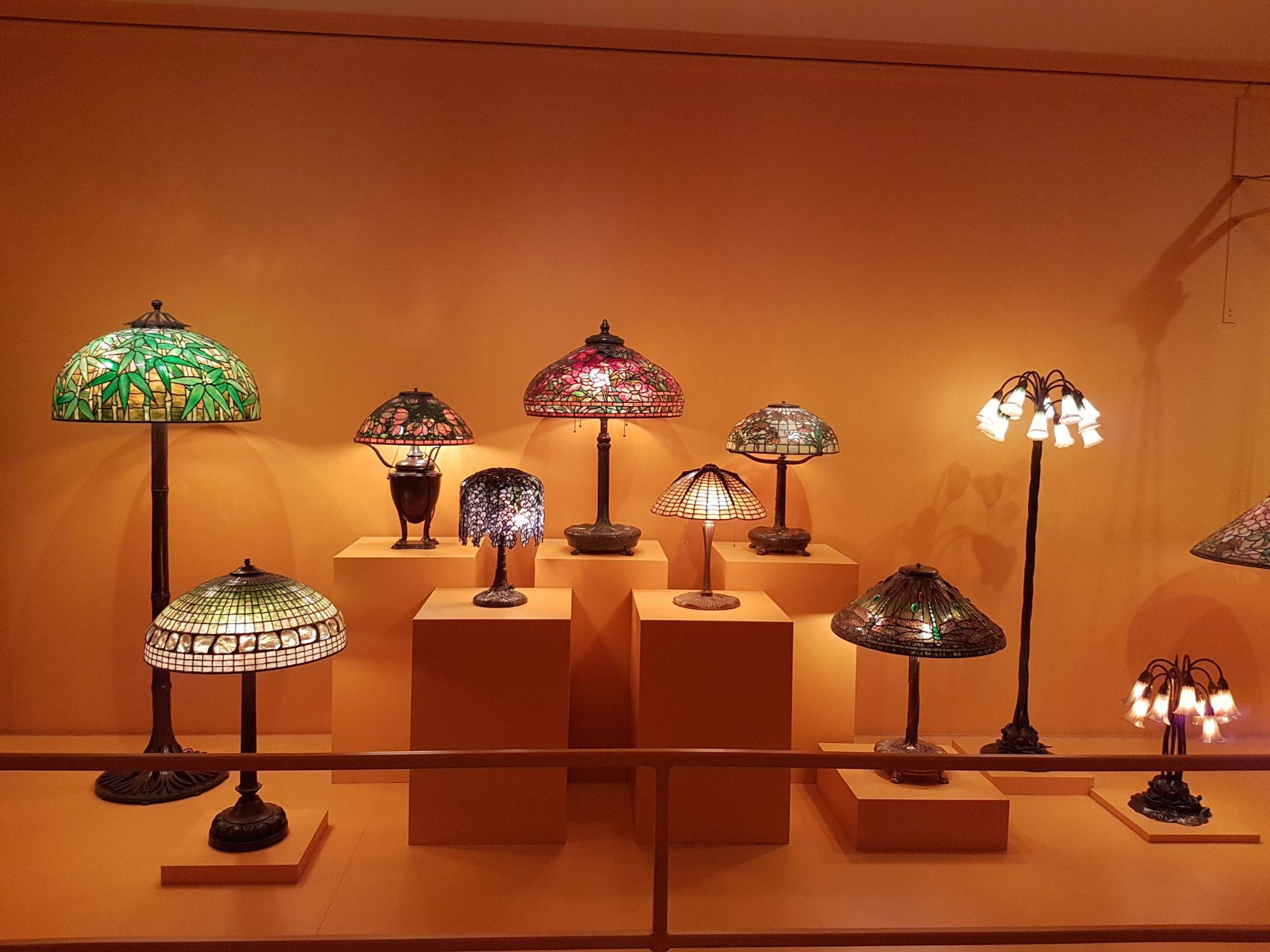 Tiffany lamps for all the family. Image by Ella Buchan
