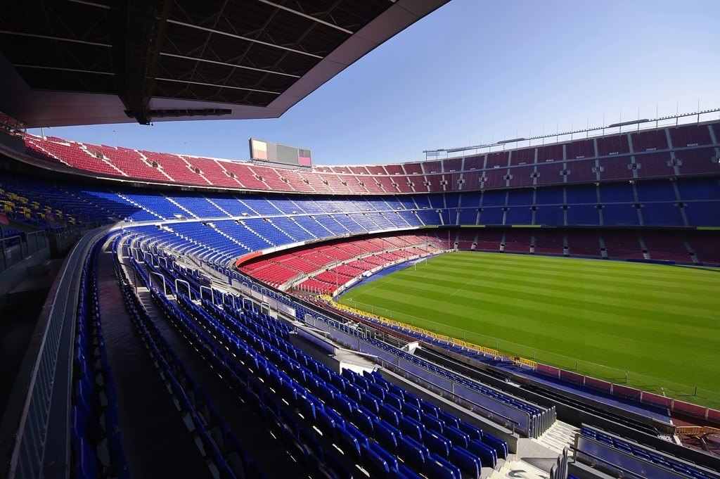 Camp Nou Football Stadium Barcelona