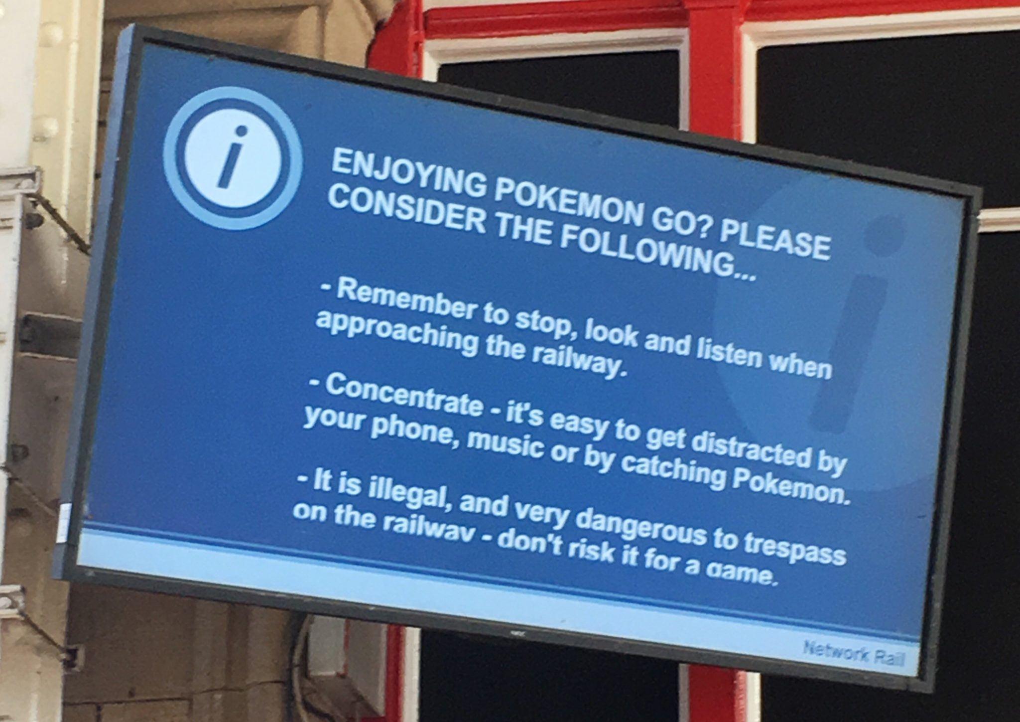 Warning! PokemonGO