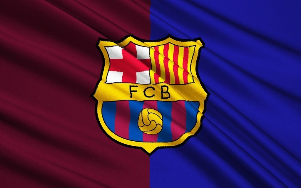 Flag football club FC Barcelona, Spain
